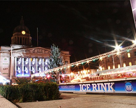 Ice Rink temporary structure
