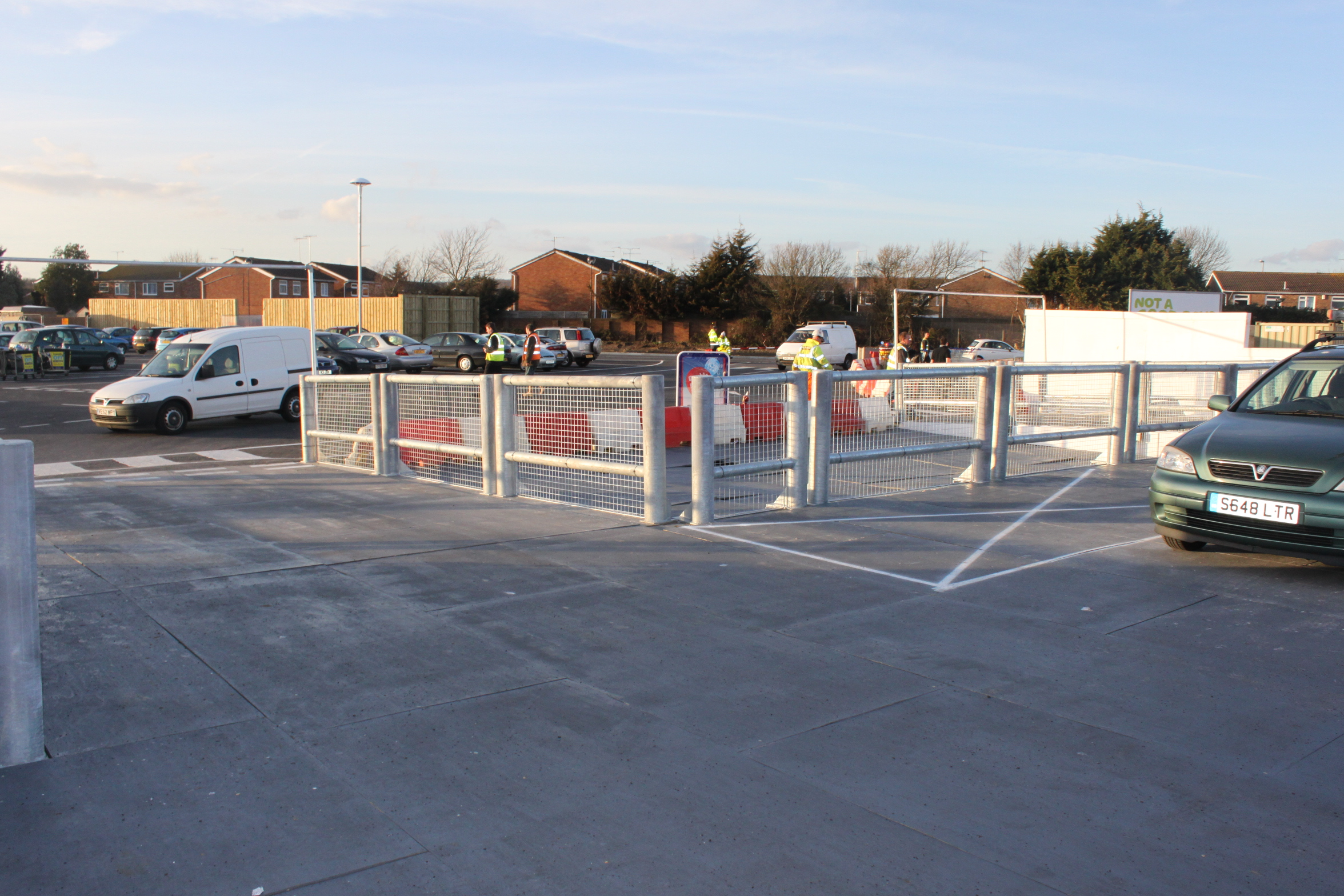 Tesco Durrington Car Park