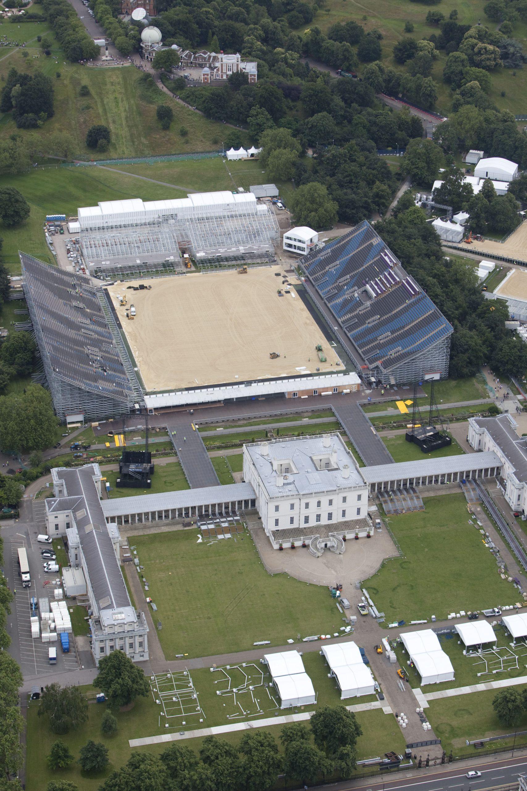London 2012 Olympic Games   Aerial View   TSG