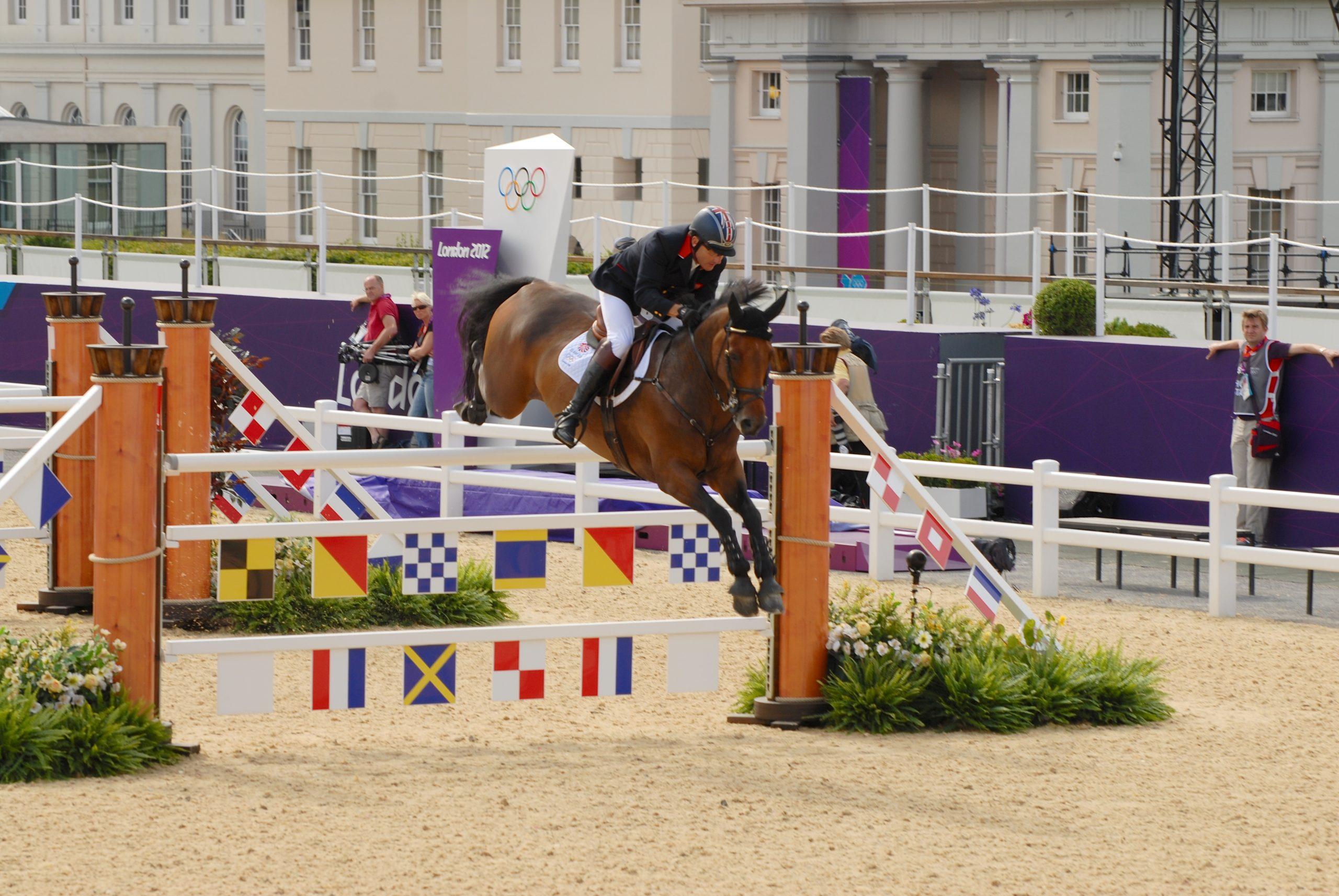 London 2012 Equestrian on TSG Heavy Deck
