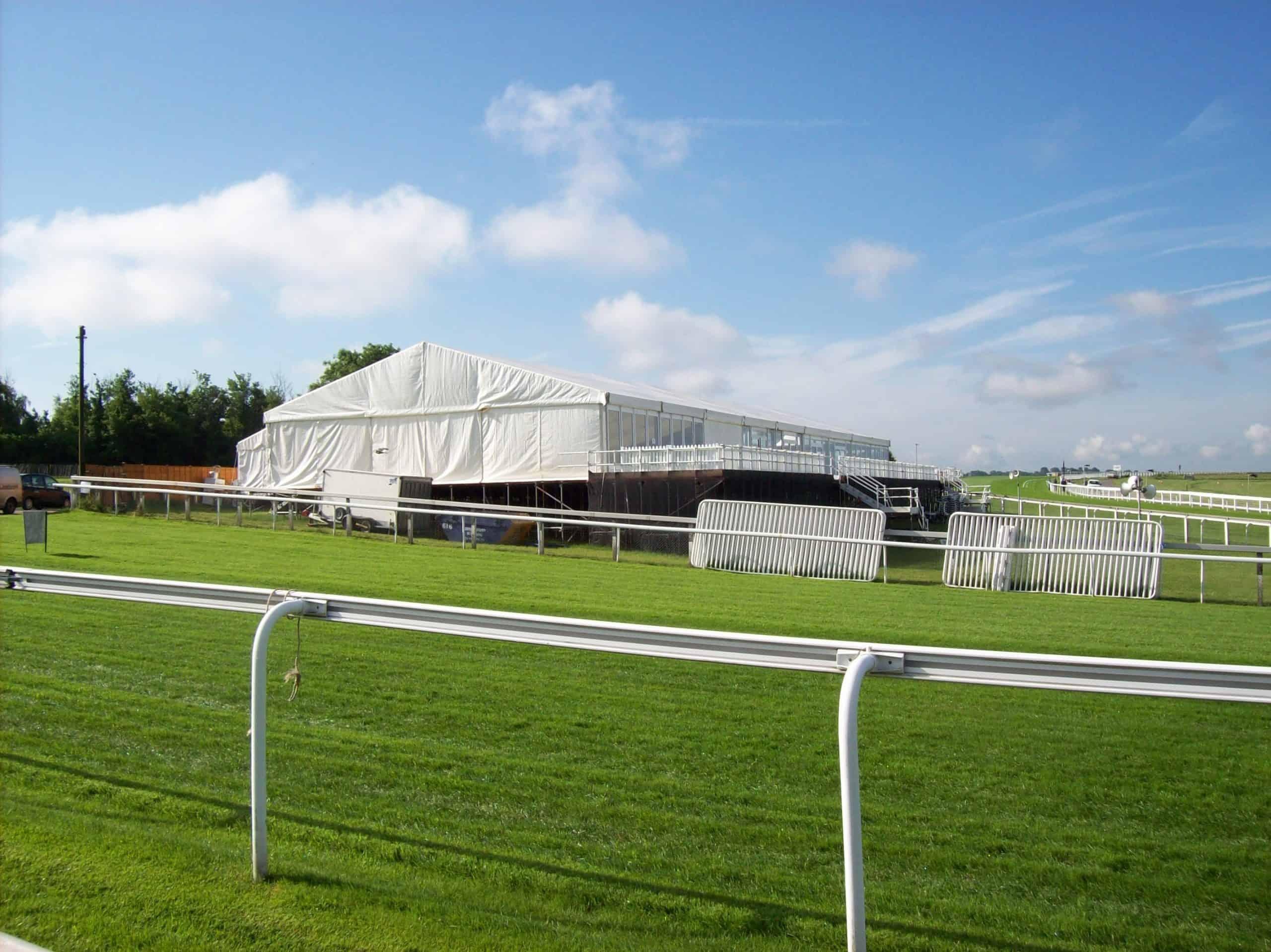 Epsom Race Course Hospitality Tent