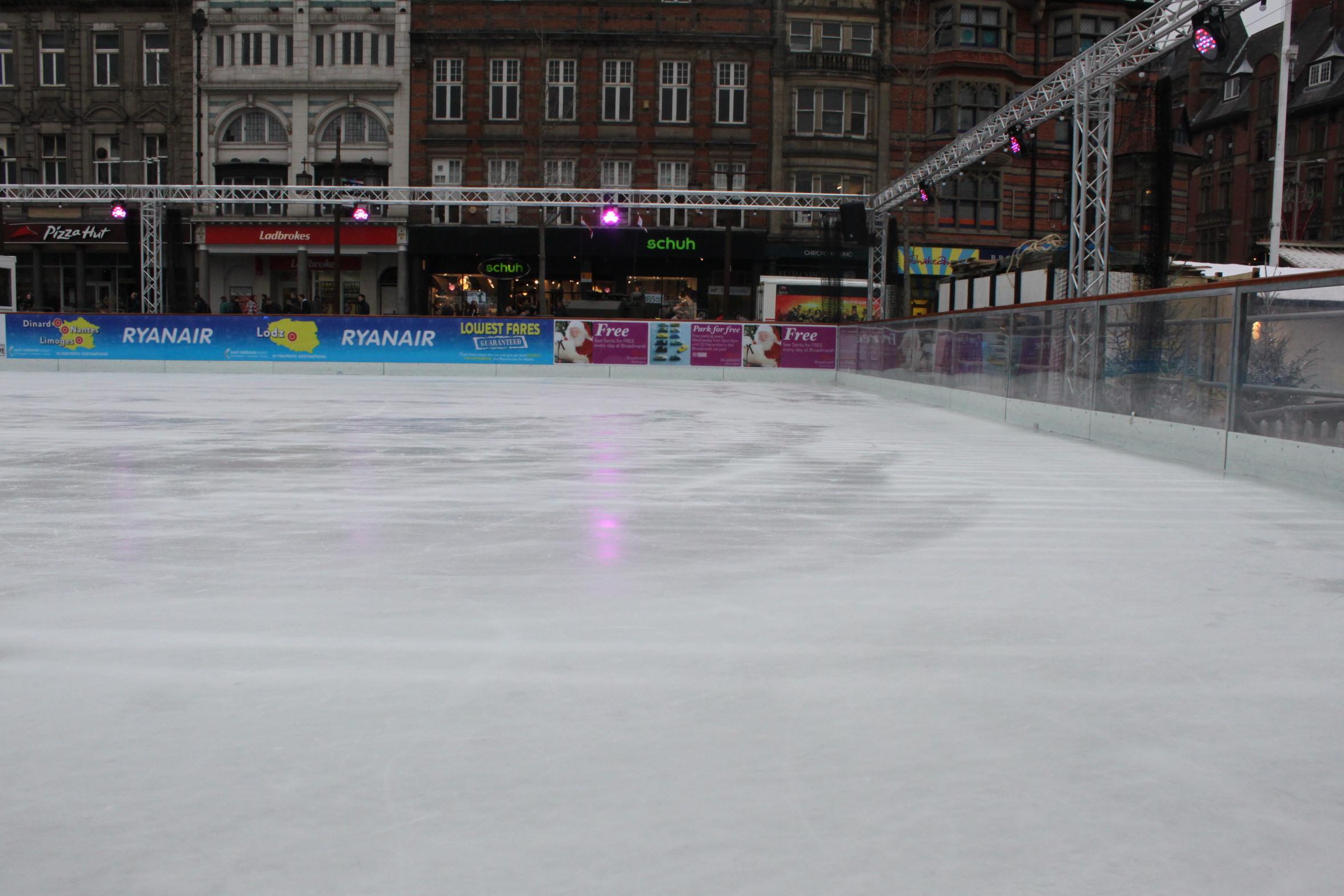 Ice Rink Hire Cassette Flooring