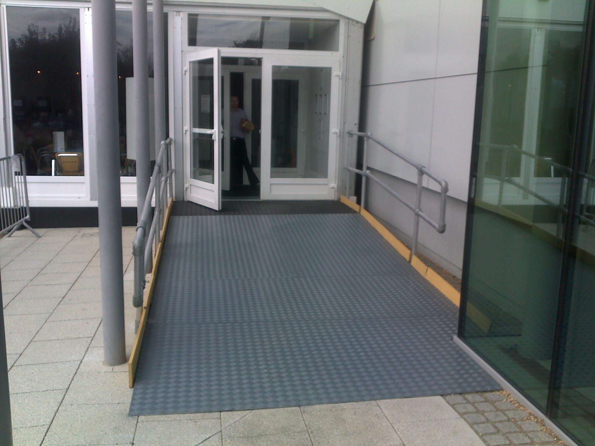 Bupa Temporary Hospital Access Ramp