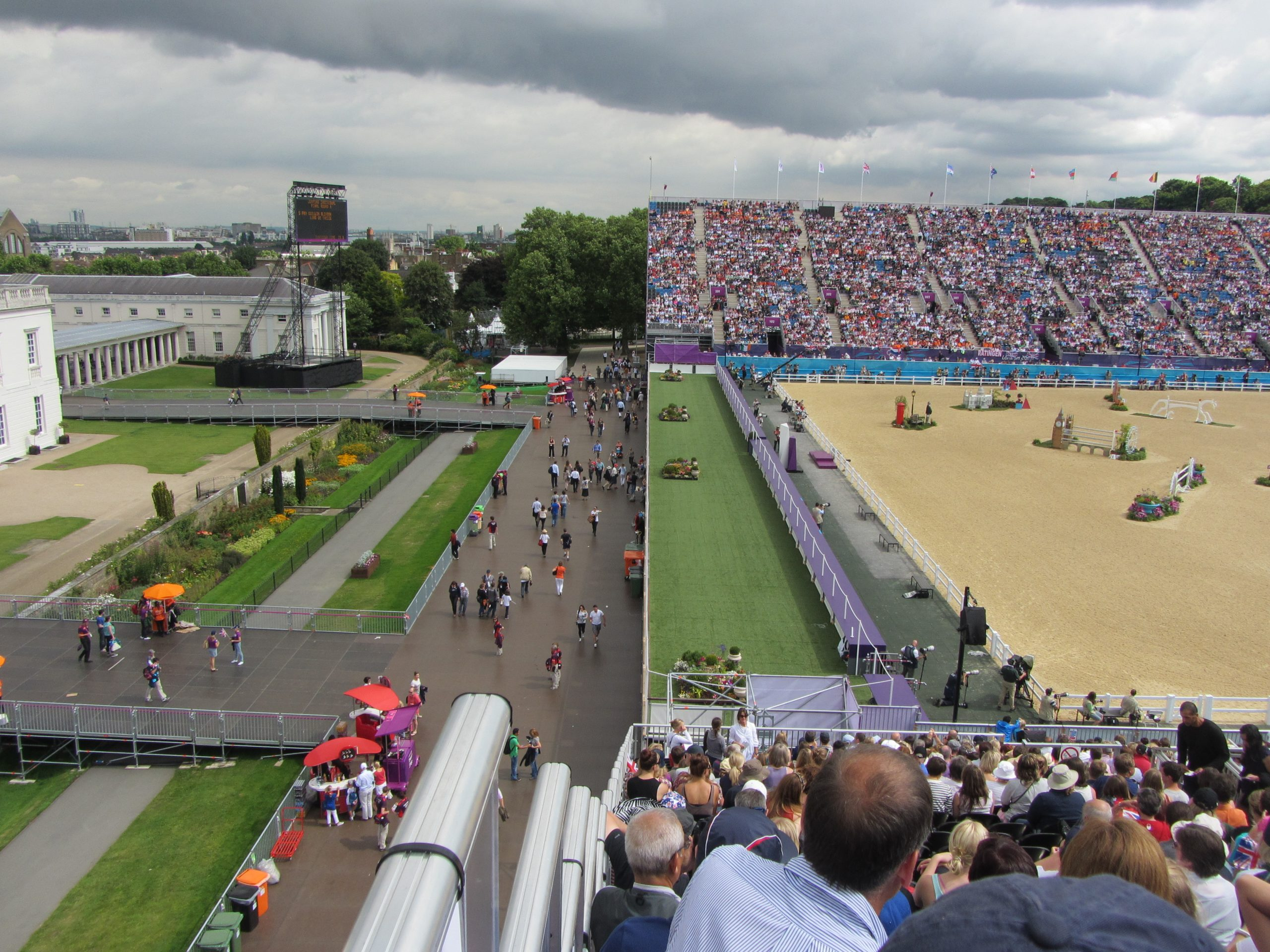 London Olympic Games Equestrian Event   TSG