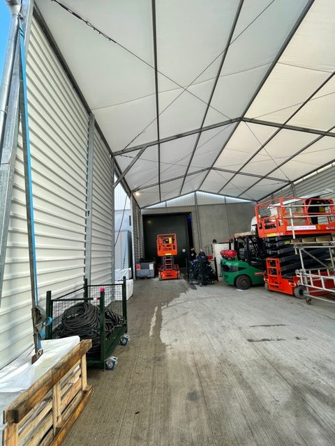 Temporary Canopy Structure