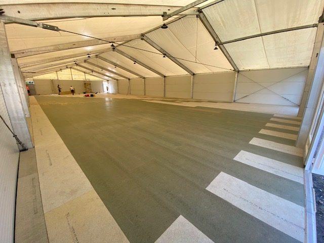 Over Boarding Flooring Temporary Structure   TSG
